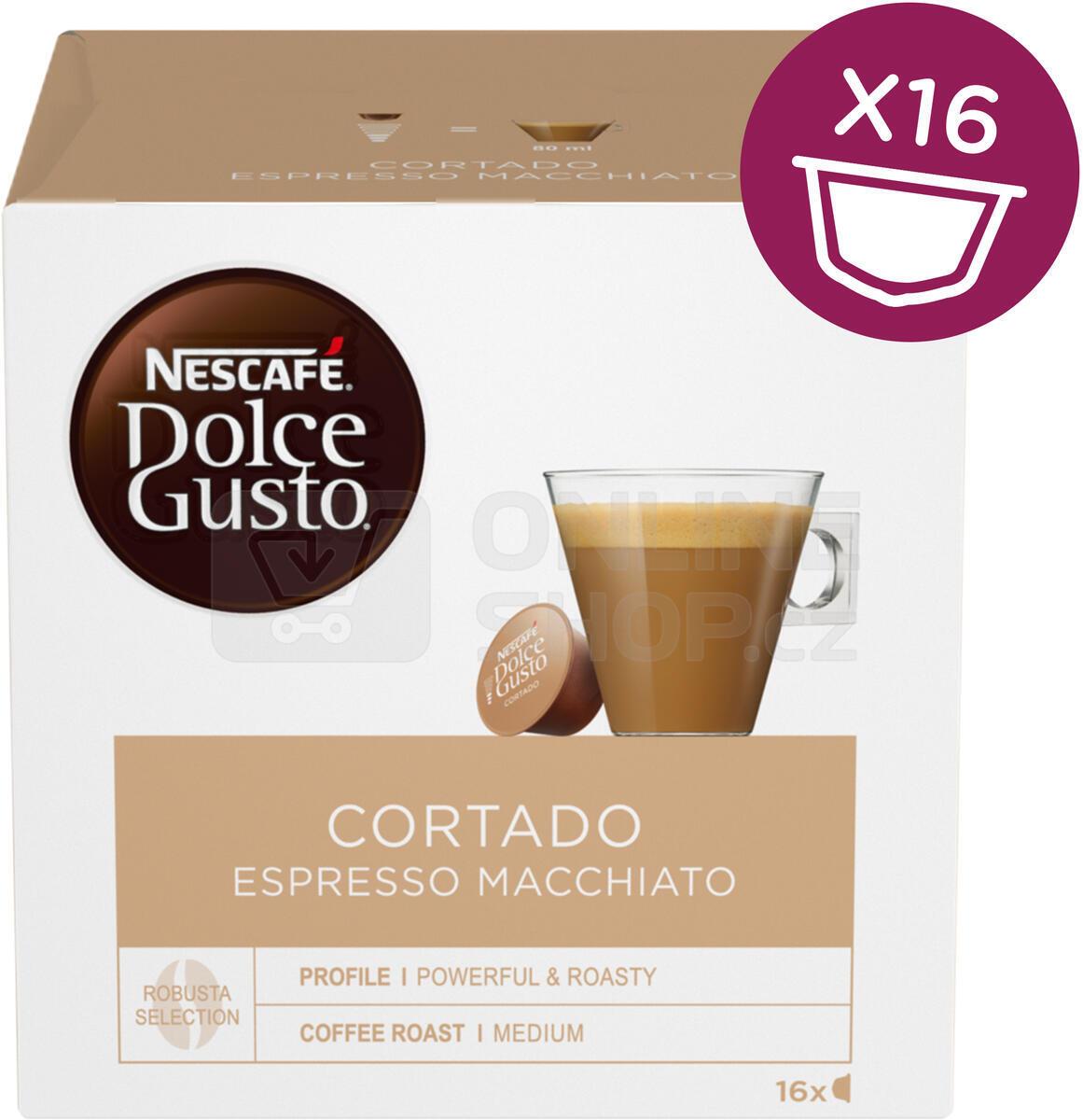 SET NESCAFÉ Dolce Gusto® Espresso + NESCAFÉ Dolce Gusto® Cortado