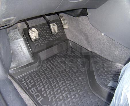 Gumové koberce Renault Fluence (L30) (09-) (2D) SIXTOL
