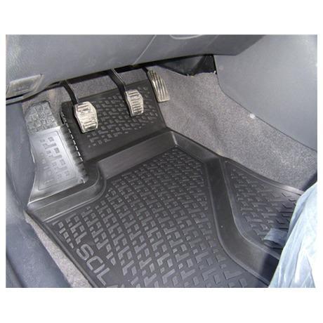 Gumové koberce Subaru Impreza III Hatchback (GE/GH/GR/GV) (07-14)  (2D) SIXTOL