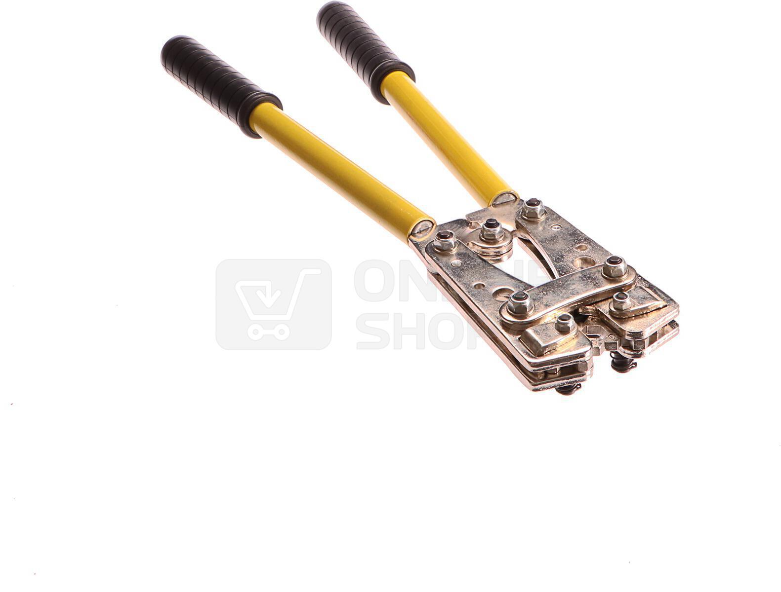 Krimpovací kleště na kabelová oka, 6-50mm2 GEKO