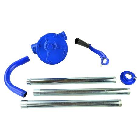 Ruční čerpadlo na kapaliny, 3 díly, modré GEKO