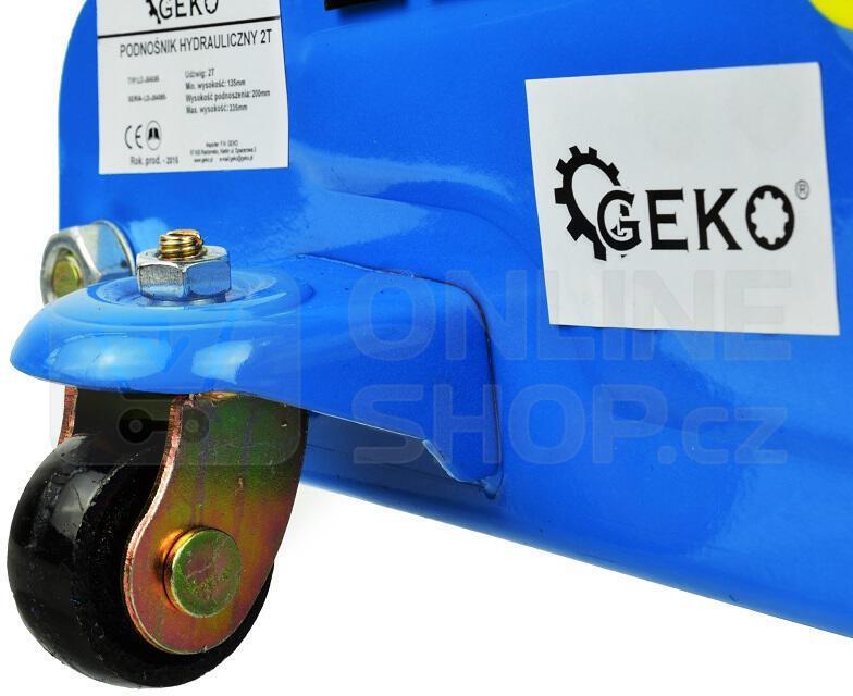 Hydraulický zvedák 2T GEKO
