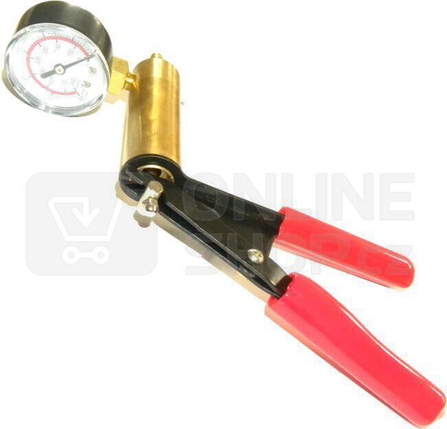 Podtlaková pumpa pro odvzdušnění brzd, 1-4 bary GEKO