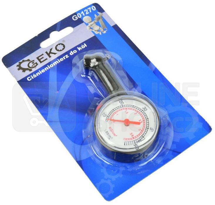 Ukazatel tlaku v pneu GEKO