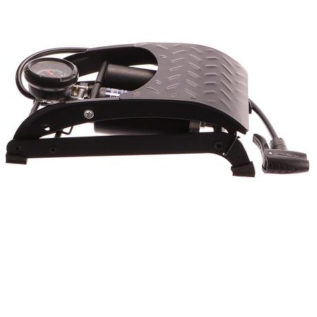 Hustilka nožní s manometrem dvoupístová, 50x120mm GEKO