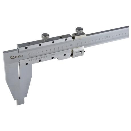 Měřítko posuvné kovové, 0-1000mm x0,05 GEKO (foto 2)