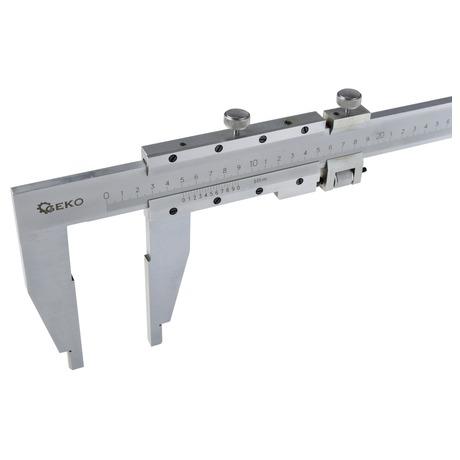 Měřítko posuvné kovové, 0-1000mm x0,05 GEKO (foto 3)