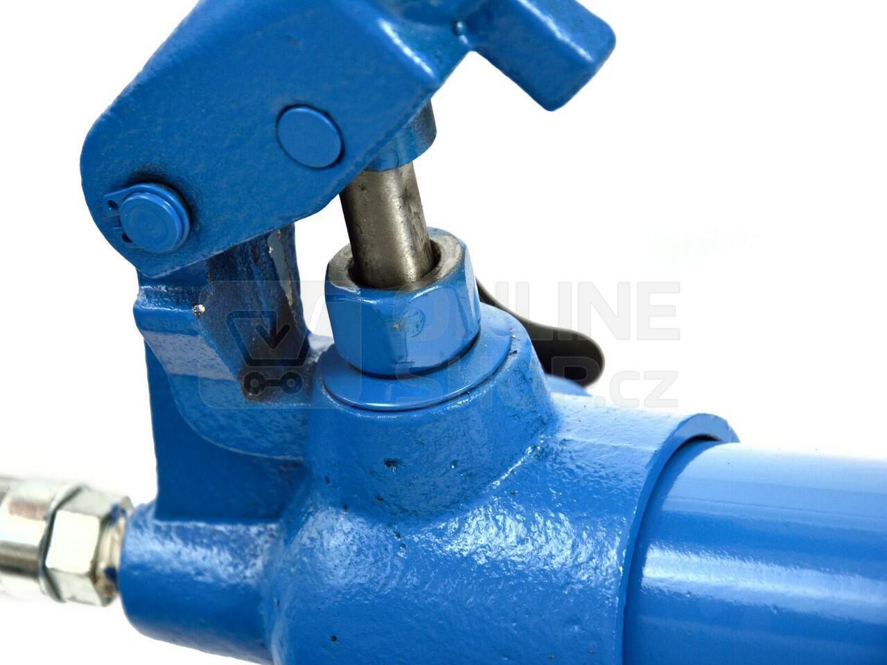 Ruční hydraulická pumpa jednorychlostní 10T, pro hydraulický rozpínák GEKO