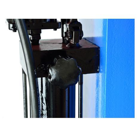 Hydraulický lis smanometrem, 30t GEKO (foto 2)