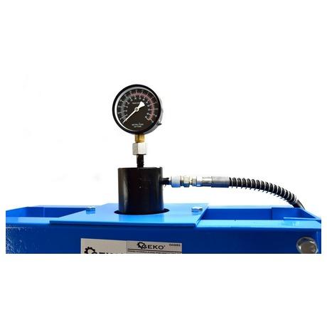 Hydraulický lis s manometrem, 30t GEKO