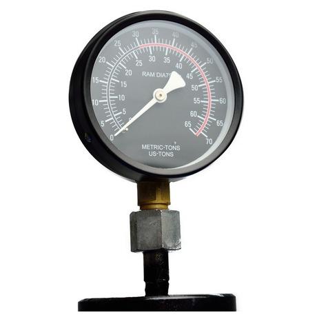 Hydraulický lis smanometrem, 30t GEKO (foto 7)