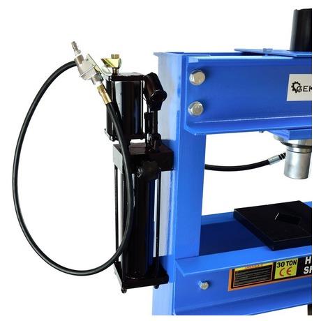 Hydraulický lis smanometrem, 30t GEKO (foto 8)