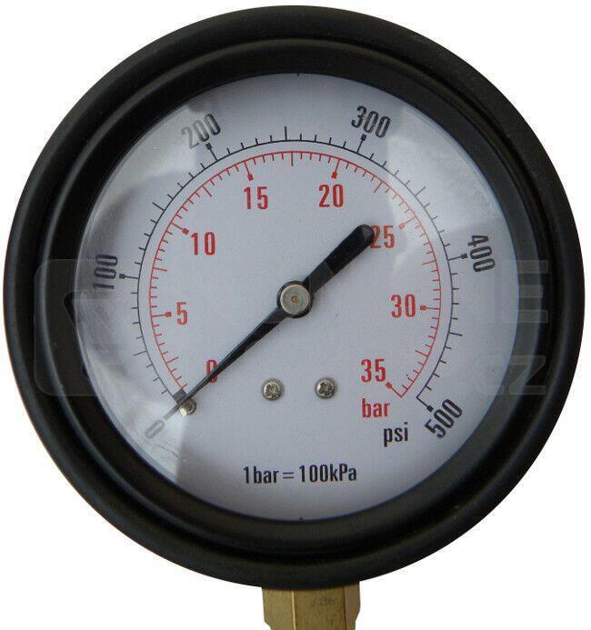 Tester tlaku oleje, profi kufr, sada 12ks GEKO