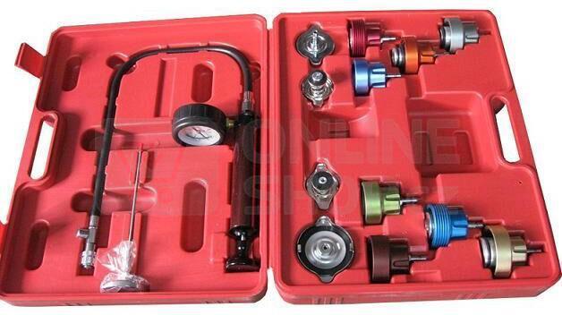 Tester tlaku chladícího systému, 14ks GEKO