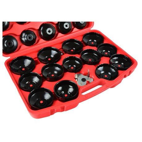 Sada klíčů naolejové filtry, 30ks GEKO (foto 2)