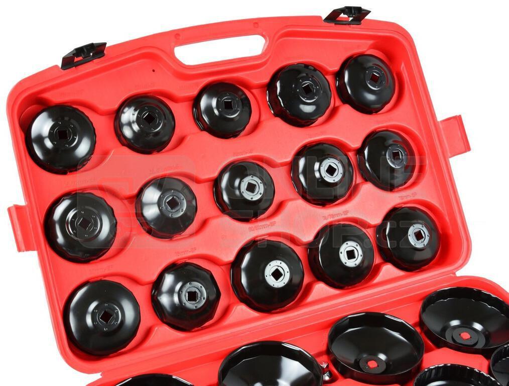 Sada klíčů na olejové filtry, 30ks GEKO
