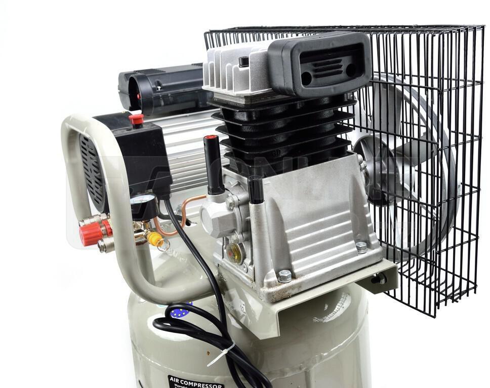 Kompresor olejový vertikální GEKO G80304