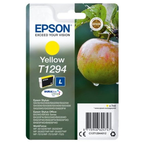 Epson Singlepack Yellow T1294 DURABrite Ultra Ink (C13T12944012)