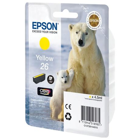 Epson Singlepack Yellow 26 Claria Premium Ink (C13T26144012)