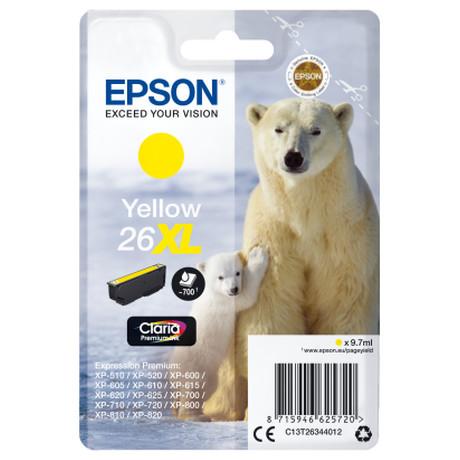 Epson Singlepack Yellow 26XL Claria Premium Ink (foto 2)