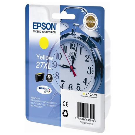 Epson Singlepack Yellow 27XL DURABrite Ultra Ink (C13T27144012)
