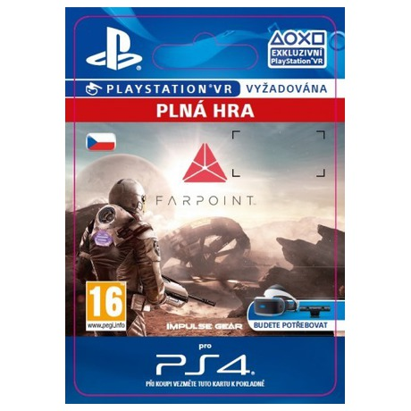 539190900 SONY PS4 hra Farpoint VR | ONLINESHOP.cz
