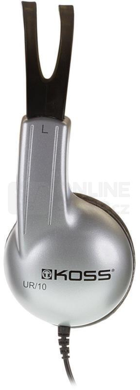 Sluchátka Koss Stratus - černá/stříbrná
