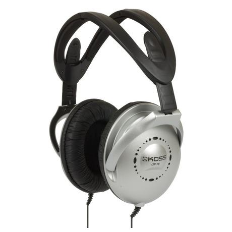 Sluchátka Koss UR 18 (doživotní záruka) - černá/stříbrná - Koss UR18 -černá/stříbrná (foto 1)