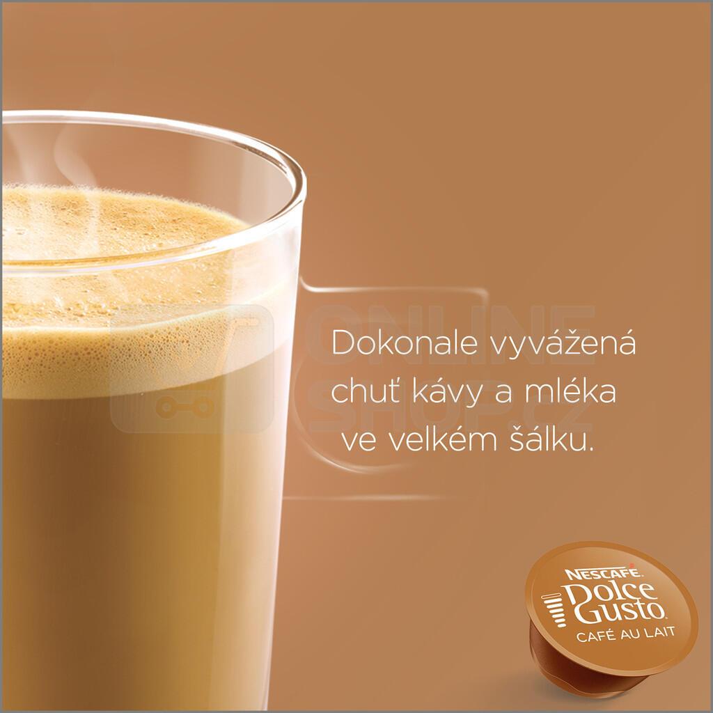 NESCAFÉ® Dolce Gusto® Café au Lait kávové kapsle 16 ks