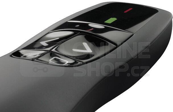 Prezentér Logitech Wireless Presenter R400 - černý