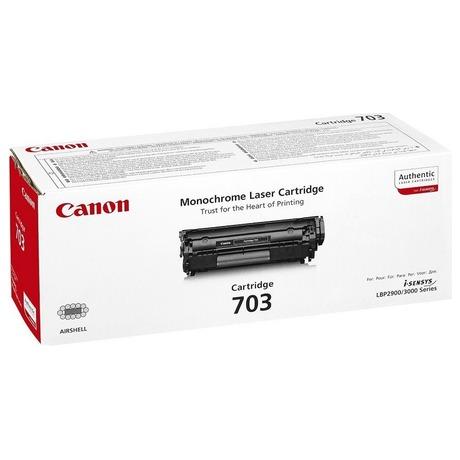 Canon CRG-703, 2500 stran originální -černý (foto 1)