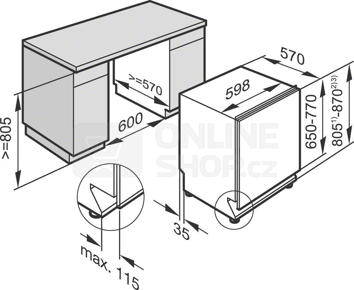 fotogalerie miele g 4263 vi active pln vestavn my ka n dob. Black Bedroom Furniture Sets. Home Design Ideas