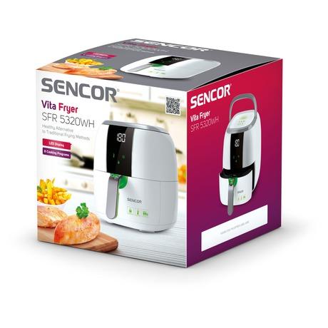 Horkovzdušná fritéza Sencor SFR 5320WH