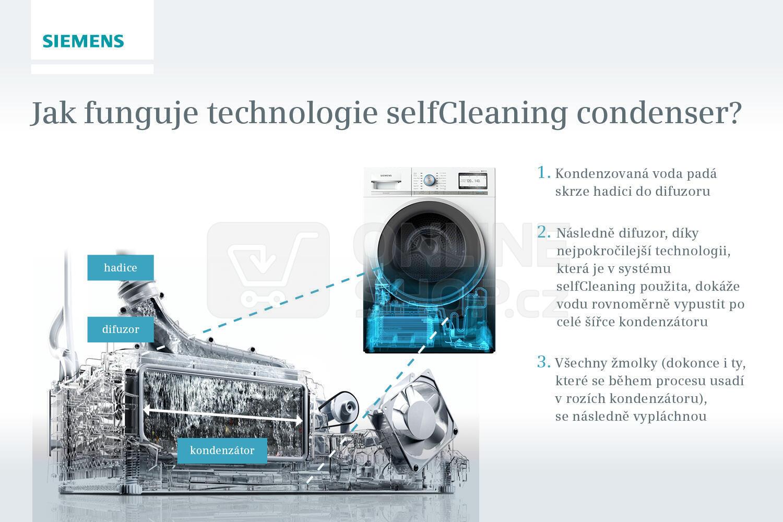 Sušička prádla Siemens WT47U690CS