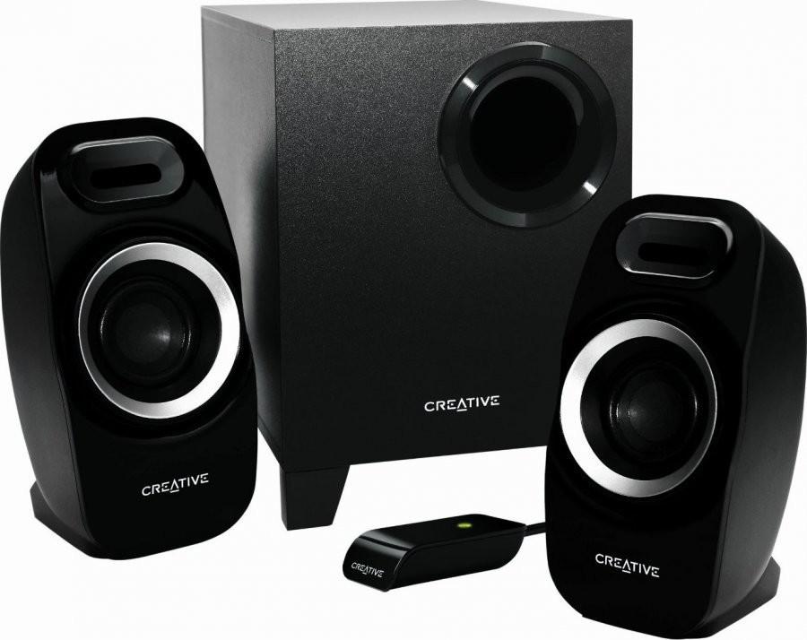 Reproduktory Creative Labs Inspire T3300 2.1 - černý