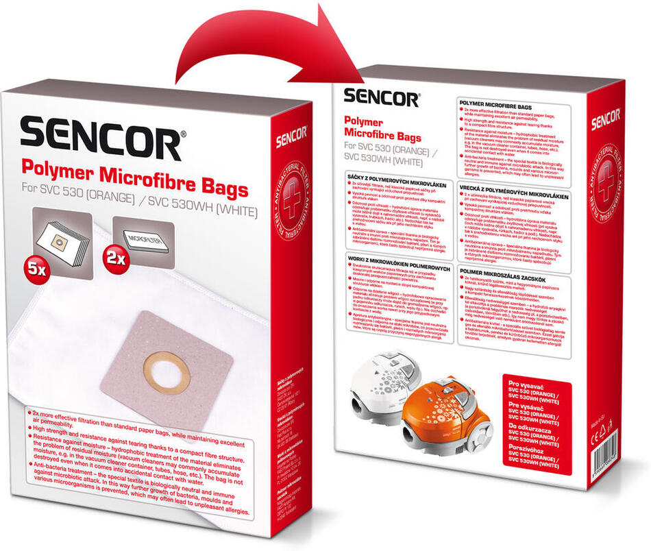 Sáčky do vysavače Sencor SVC 530