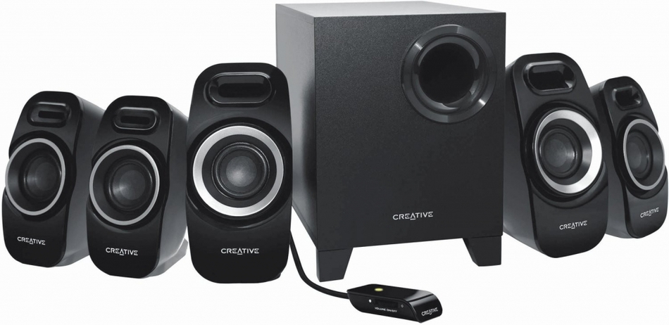 Reproduktory Creative Labs Inspire T6300 - černé