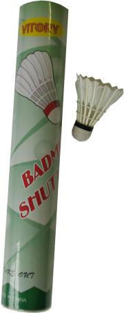 ACRA G11201 košíčky badmintonové péřové 12ks