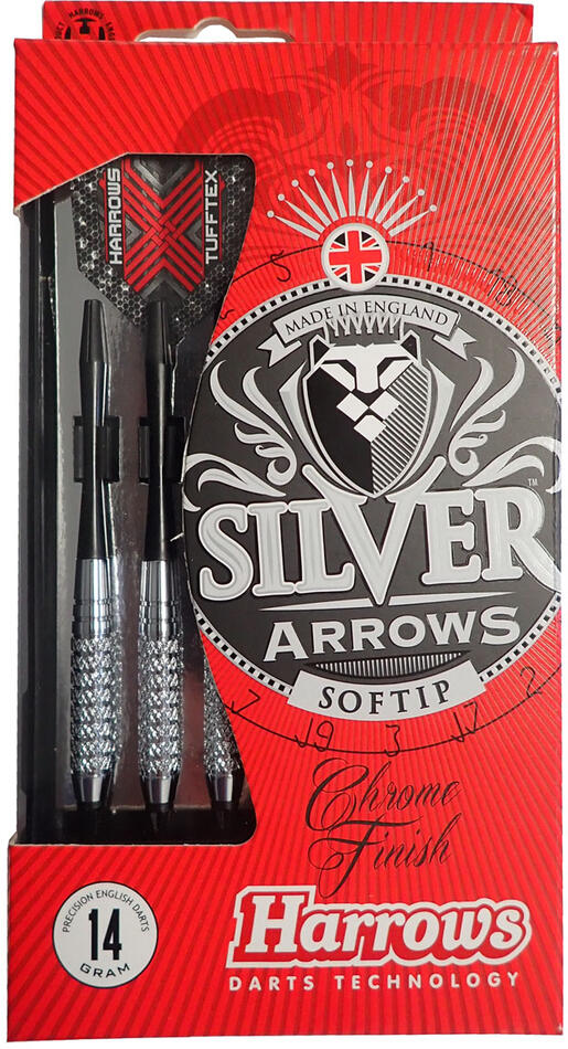 HARROWS SOFT SILVER ARROW 16g