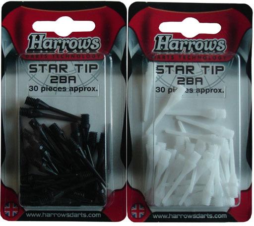Harrows T92 Hroty k šipkám STAR SOFT 30 ks v blistru