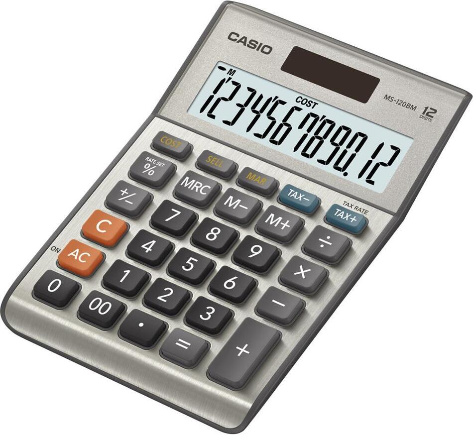 Kalkulačka Casio MS 120 B MS