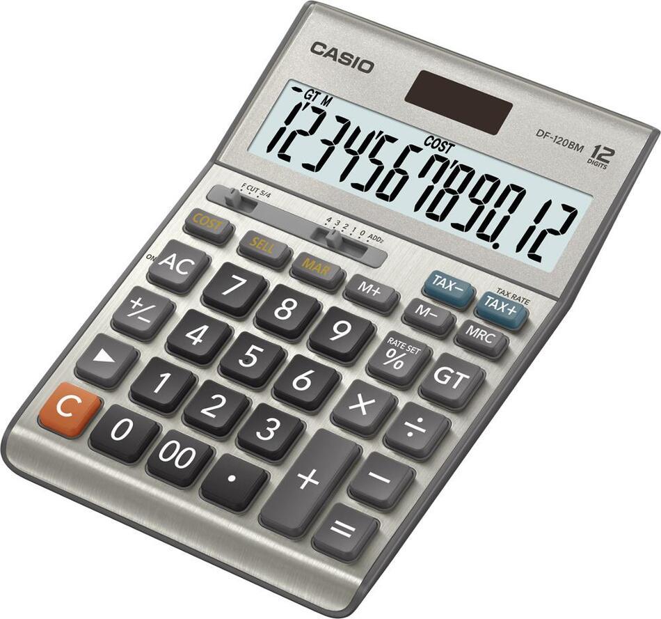 Kalkulačka Casio DF 120 B MS