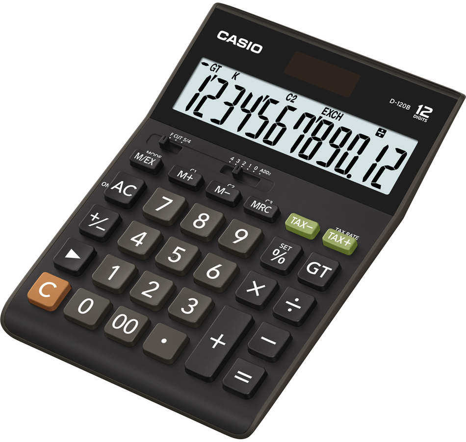Kalkulačka Casio D 120 B S