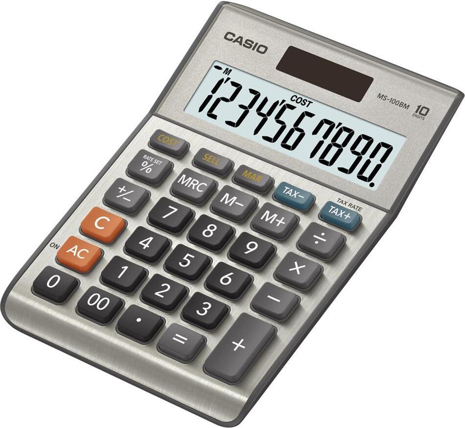 Kalkulačka Casio MS 100 B MS