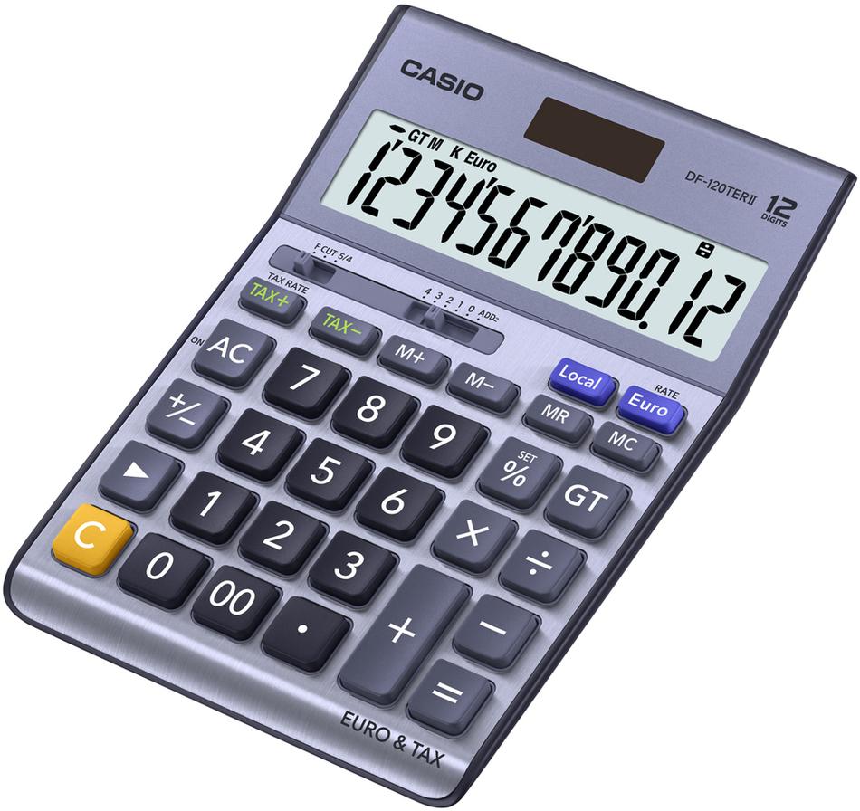 Kalkulačka Casio DF 120 TER II