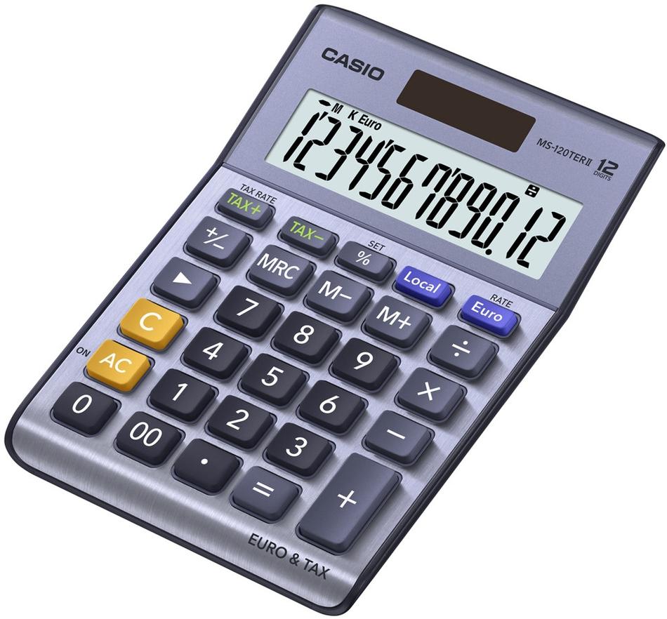 Kalkulačka Casio MS 120 TER II