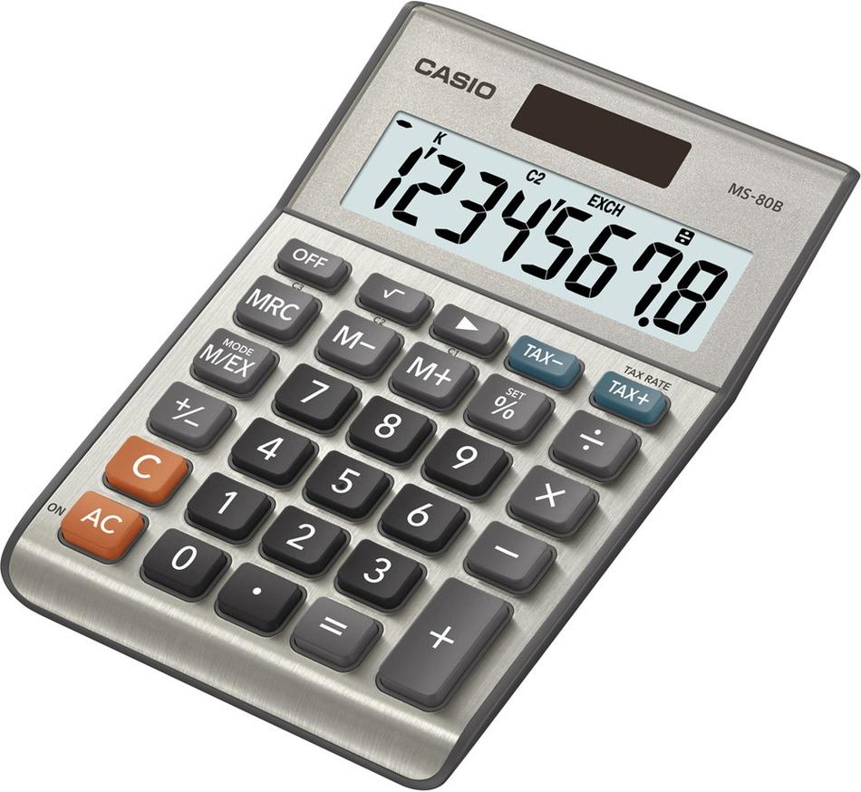 Kalkulačka Casio MS 80 B S