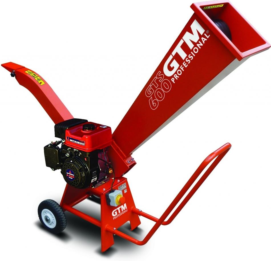 Zahradní drtič GTM GTS 600