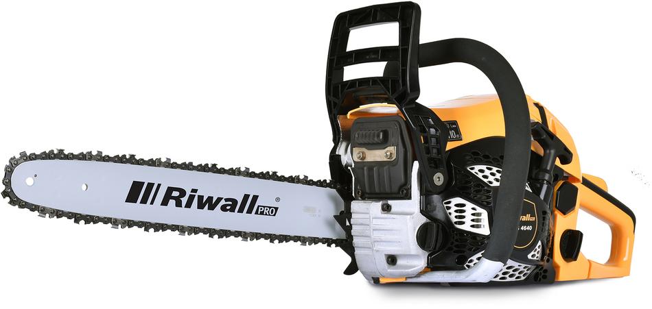 Pila řetězová Riwall RPCS 4640, benzínová