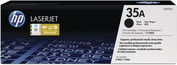 Toner HP 35A, 1500 stran originální - černý